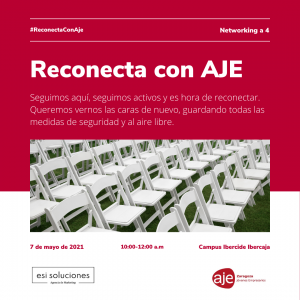 #ReconectaConAJE: Networking a 4