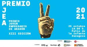 Gala XIII Premio Joven Empresario de Aragón 2021